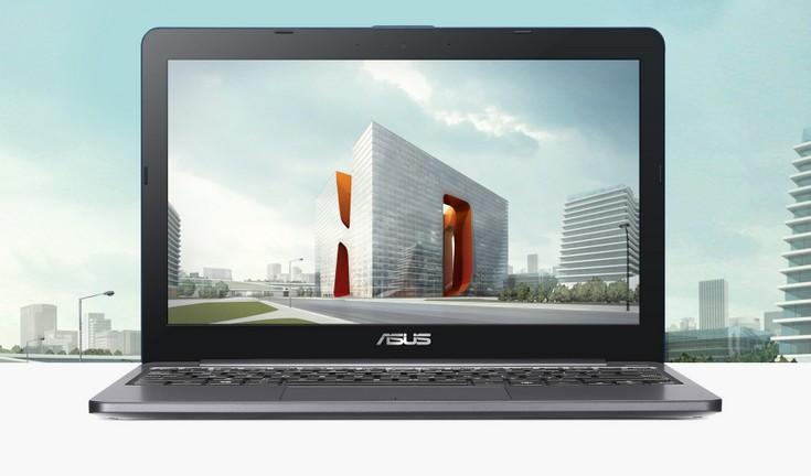 Мобильный ПК Asus VivoBook E12 получил 11-дюймовый экран