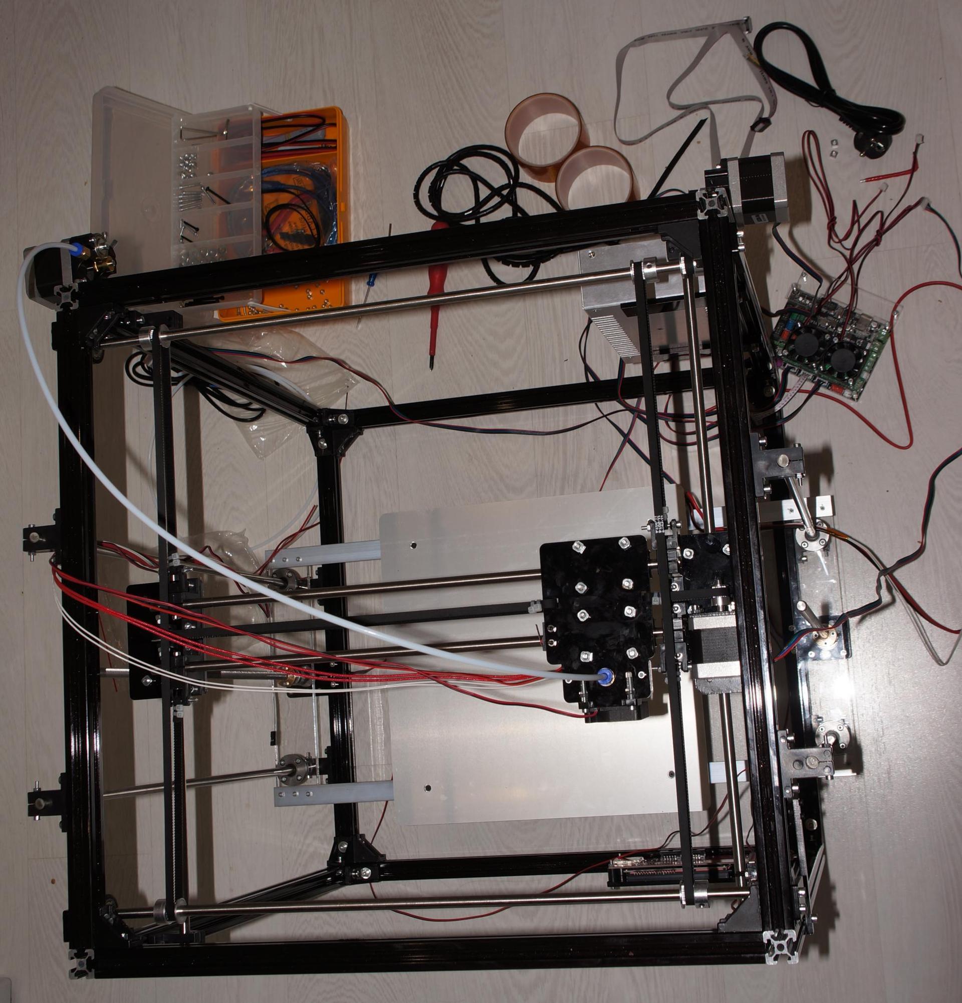Обзор принтера от flsun с большой областью печати - 5