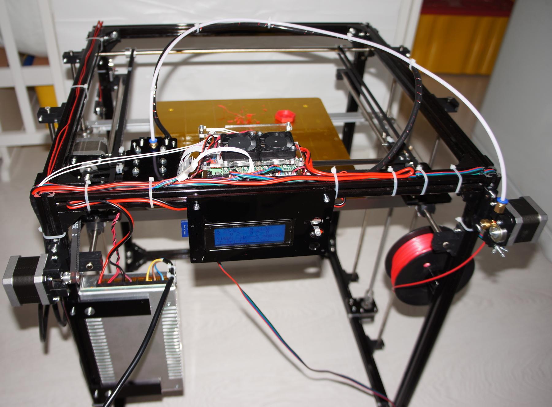 Обзор принтера от flsun с большой областью печати - 6
