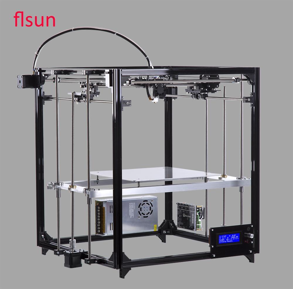 Обзор принтера от flsun с большой областью печати - 1