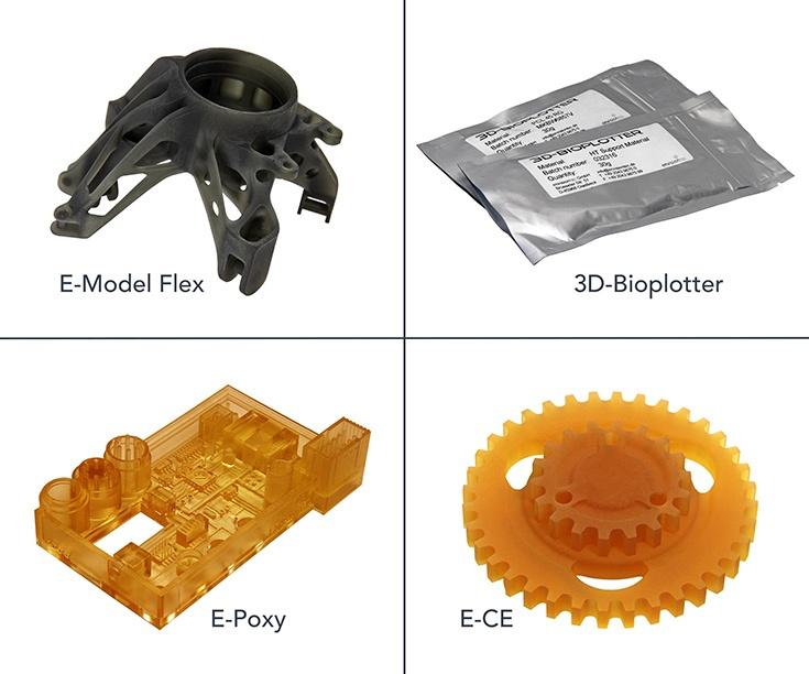 Одновременно представлены инженерные материалы для 3D-печати