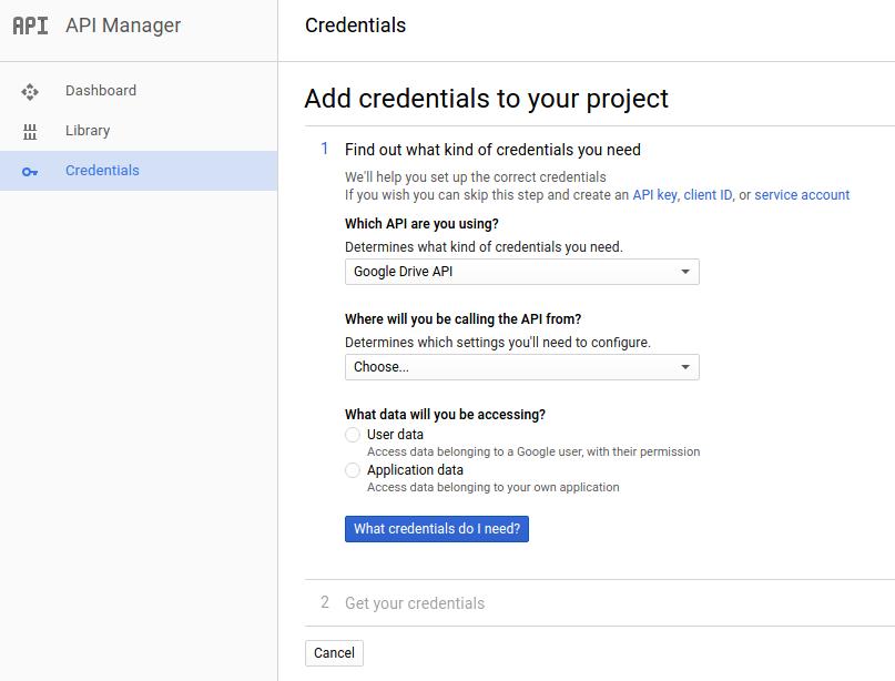 Пишем скрипт для синхронизации папок с Google Drive, плюс учимся использовать Google Drive API - 2