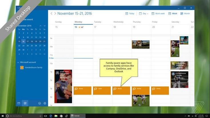 Microsoft работает над функцией HomeHub для Windows 10