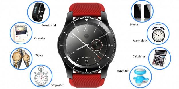Умные часы No.1 G8 со слотом для карты Nano-SIM могут работать в трех режимах