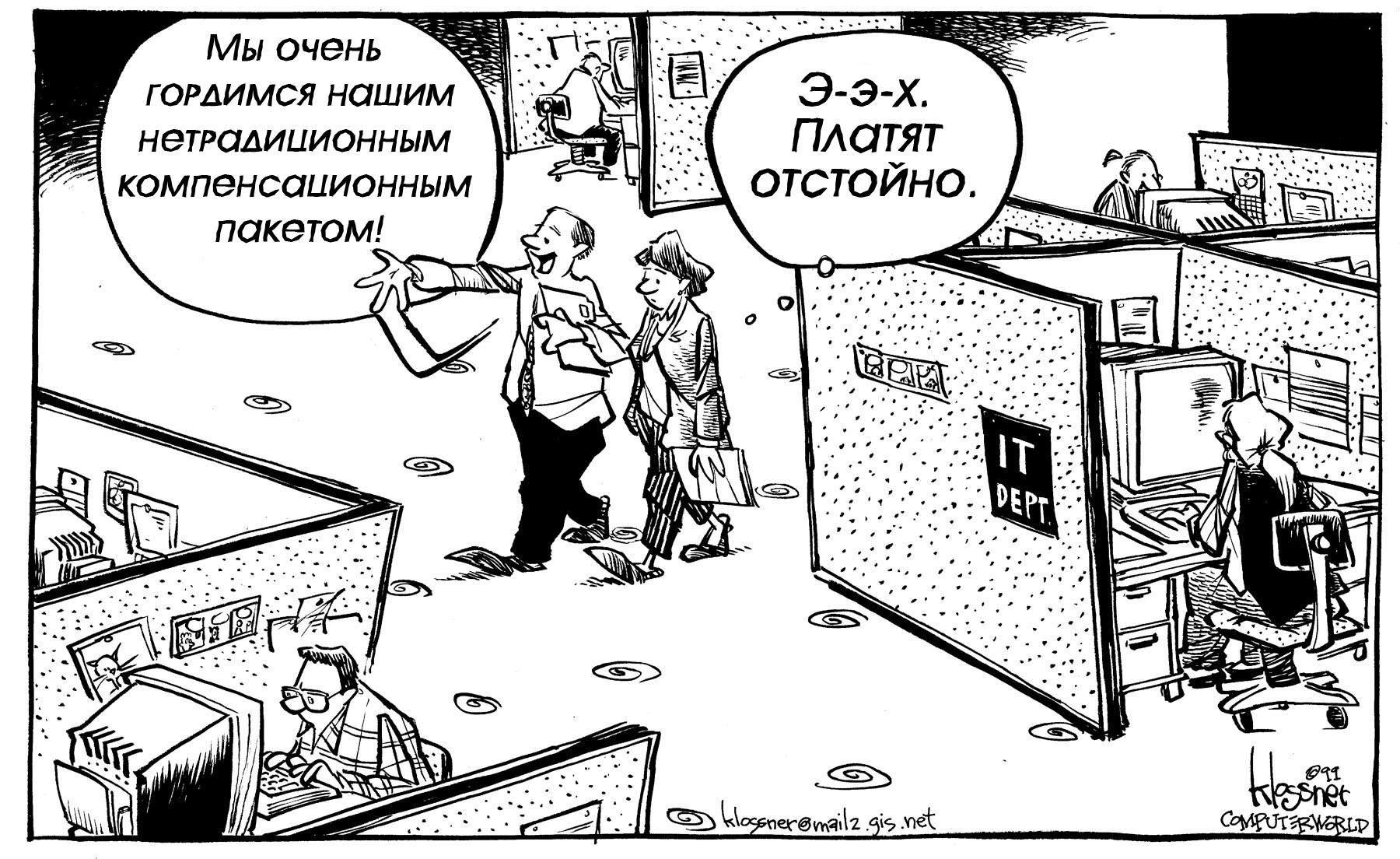 Карикатурный взгляд на работу в IT - 3