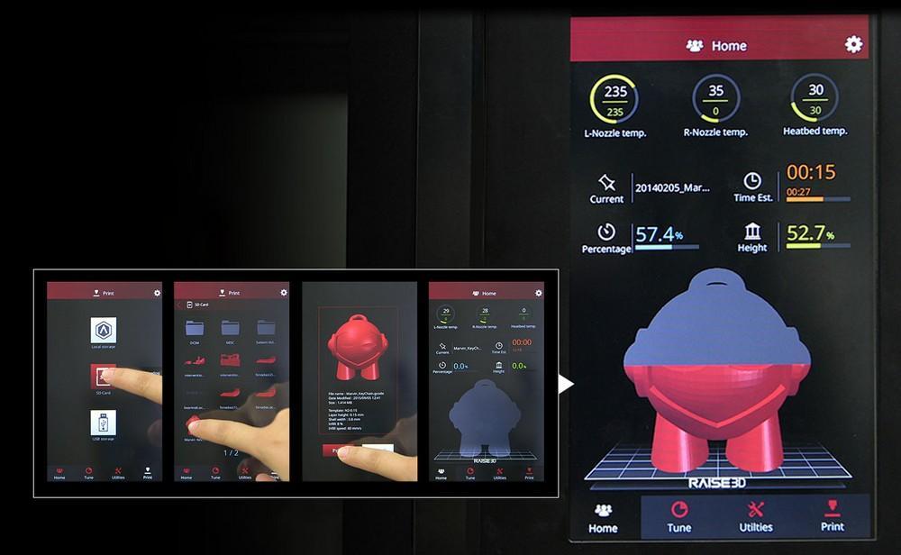 Обзор 3D-принтеров Raise3D - 8