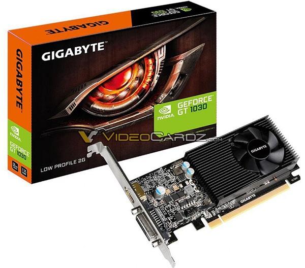 Gigabyte GeForce GT 1030 2GB LP