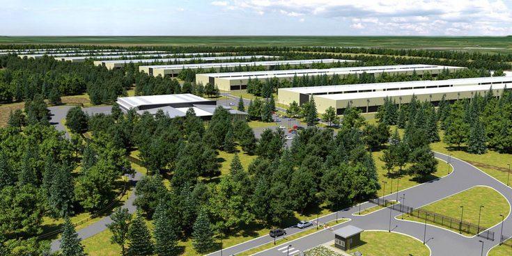Благодаря постройке склада Apple уменьшит выплату налогов