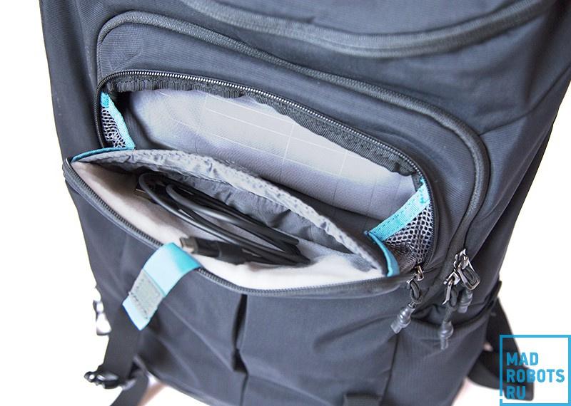 Thule Paramount TFDP-115: отличный рюкзак для города и коротких путешествий - 5