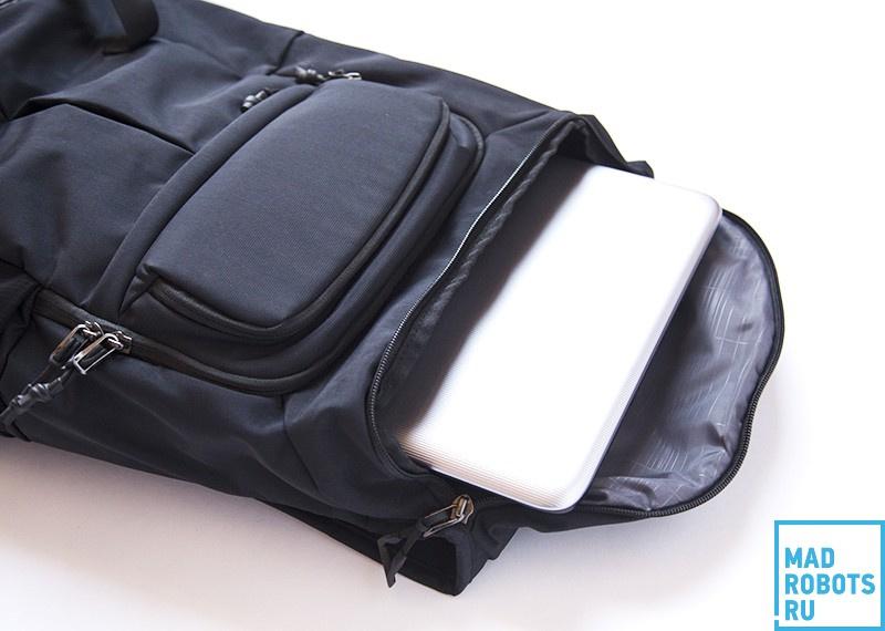 Thule Paramount TFDP-115: отличный рюкзак для города и коротких путешествий - 7