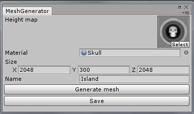 Unity3D. Балуемся с мешем. Часть 1 — Генерация меша с помощью карты высот - 4