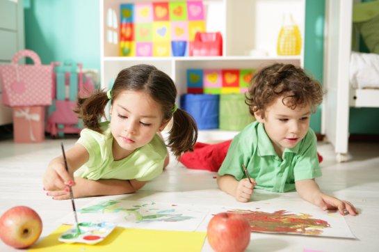 Навыки ребенка улучшаются в детском саду на 10 процентов