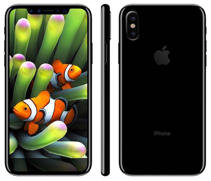 Goldman Sachs считает, что версии iPhone 8 с флэш-памятью объемом 128 и 256 ГБ будут стоить $999 и $1099 соответственно