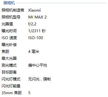 Опубликована первая фотография, сделанная на камеру смартфона Xiaomi Mi Max 2