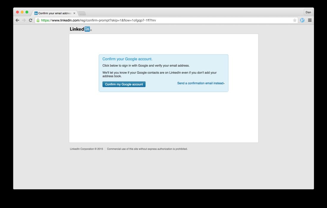 Тёмные паттерны LinkedIn или Почему вам спамят друзья, призывая зарегистрироваться в LinkedIn - 14