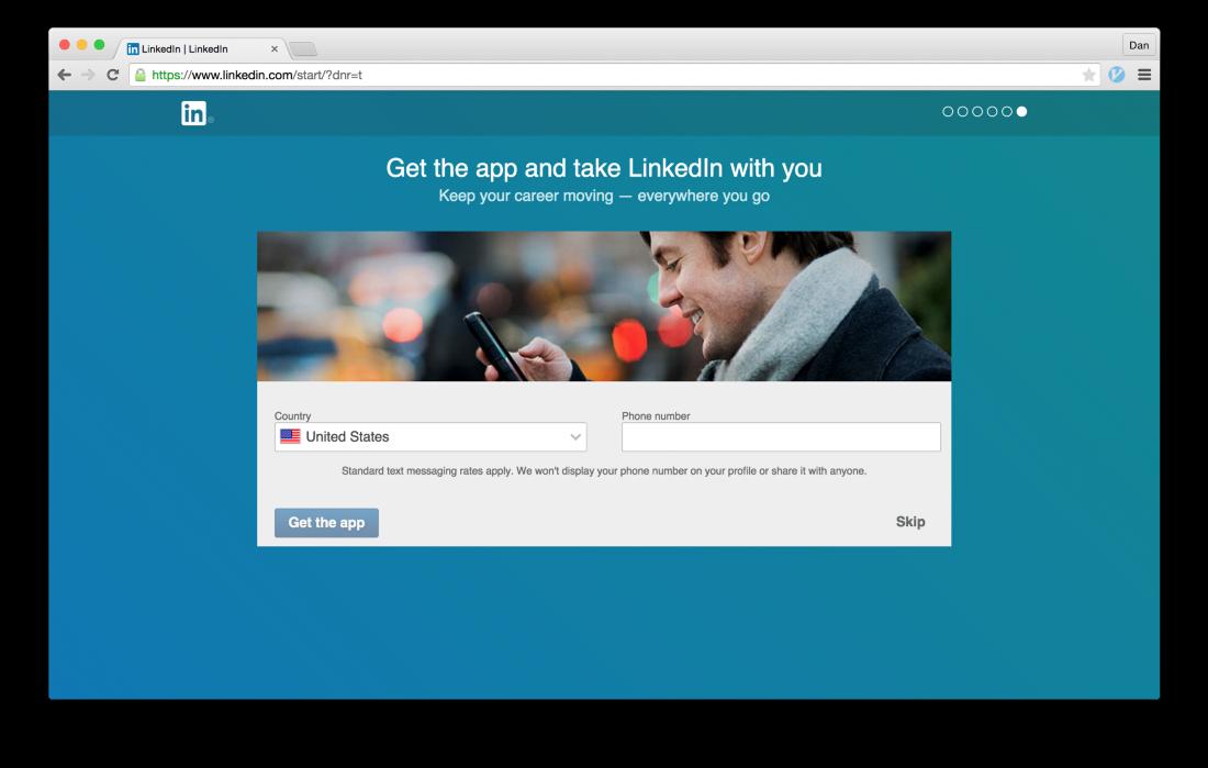 Тёмные паттерны LinkedIn или Почему вам спамят друзья, призывая зарегистрироваться в LinkedIn - 29