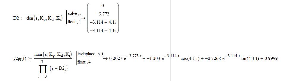 Модель ПИД регулятора на Python - 2