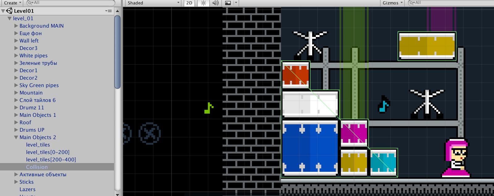 Tiled2Unity: экспорт из Tiled Map Editor в Unity - 8