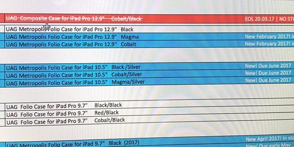Apple готовит к выпуску iPad Pro 10.5