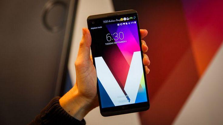 Смартфон LG V30 получит панель OLED
