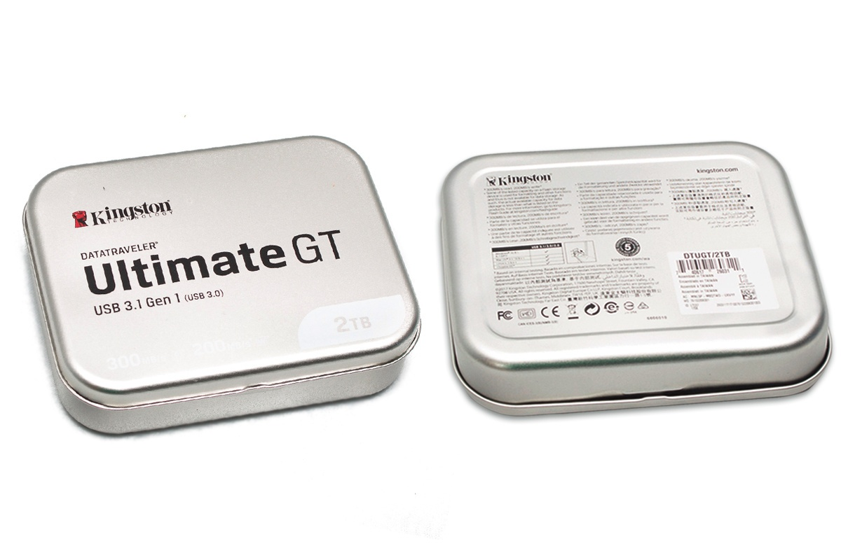 Самая вместительная флэшка в мире! Обзор Kingston DataTraveler Ultimate GT с 2 Тбайт памяти - 2