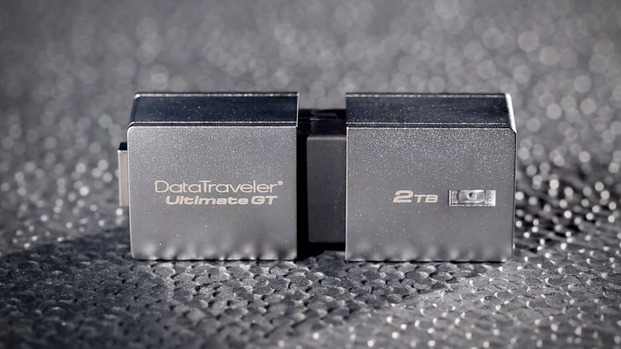 Самая вместительная флэшка в мире! Обзор Kingston DataTraveler Ultimate GT с 2 Тбайт памяти - 1