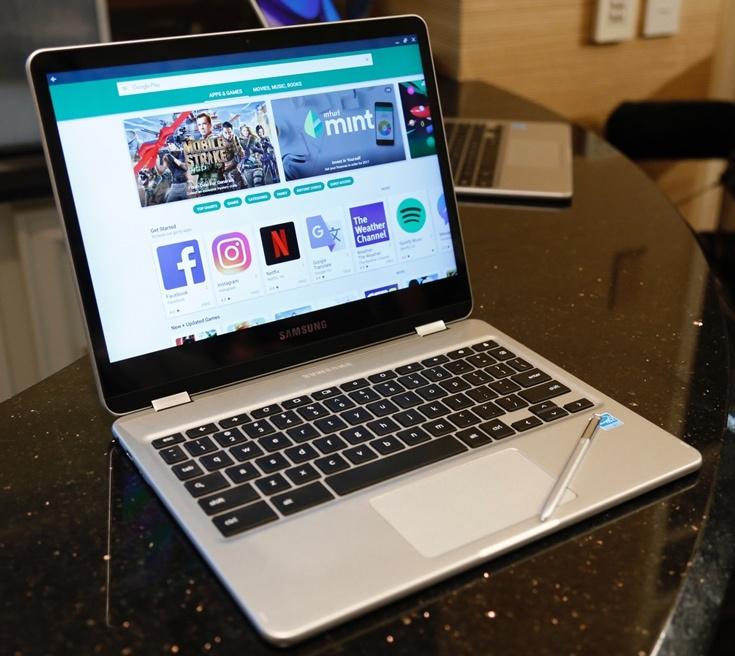 Samsung Chromebook Pro будет одним из первых хромбуков, поддерживающих приложения для Android