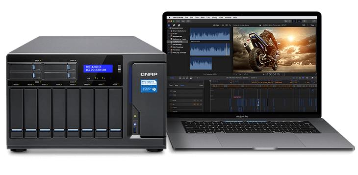NAS Qnap TVS-882ST3 основано на ЦП Intel Core шестого поколения