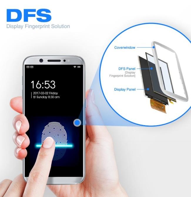 Компания CrucialTec запатентовала дактилоскопический датчик, встроенный в дисплей