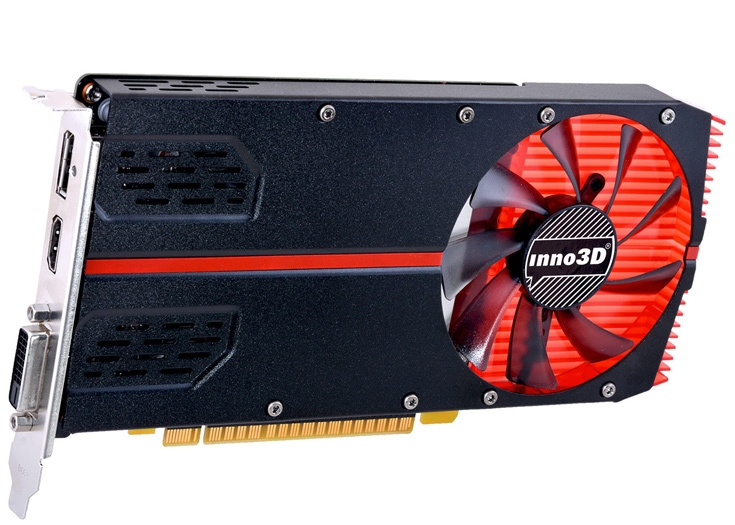 Модель GeForce GTX 1050 оснащена 2 ГБ памяти GDDR5, GeForce GTX 1050 Ti — 4 ГБ