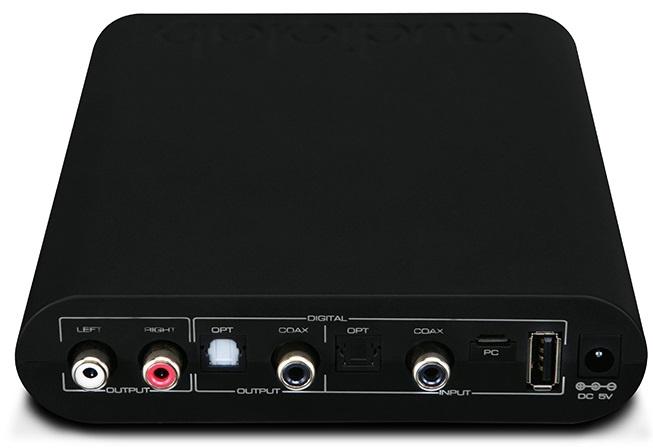 ЦАП Audiolab M-DAC Mini перенял некоторые схемотехнические особенности у старших собратьев