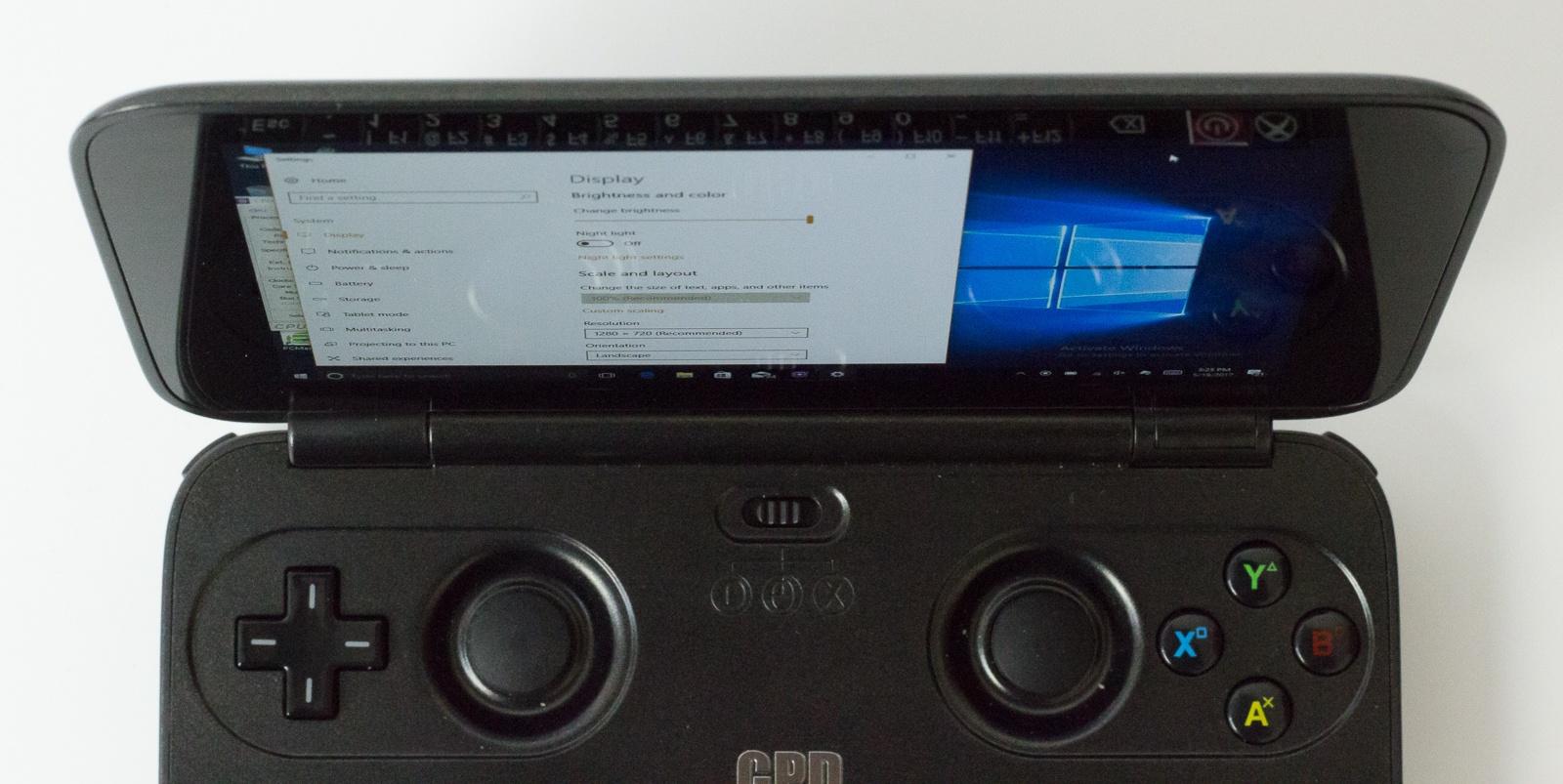"""GPD Win — исследуем миниатюрный ноутбук с диагональю 5.5"""", предназначенный для игр и эмуляторов - 6"""