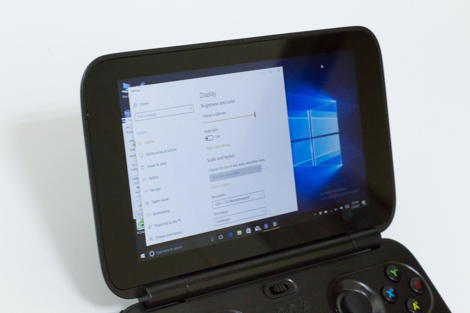 """GPD Win — исследуем миниатюрный ноутбук с диагональю 5.5"""", предназначенный для игр и эмуляторов - 7"""