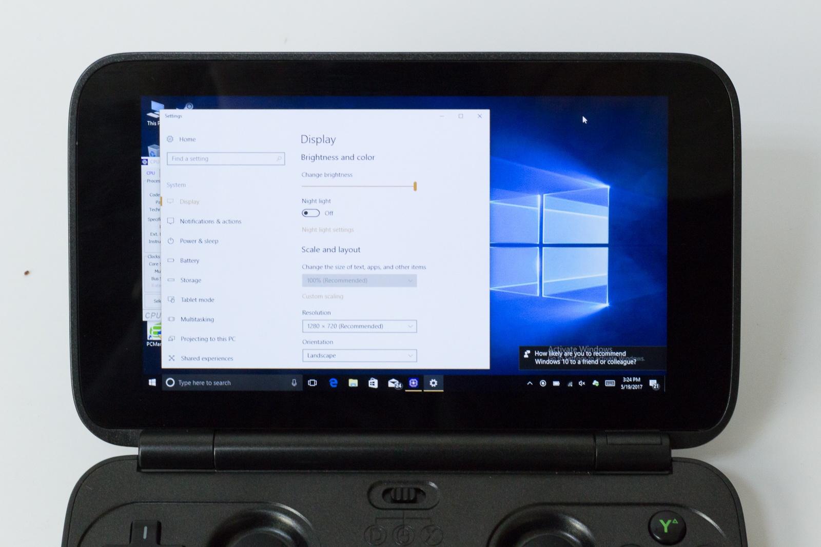"""GPD Win — исследуем миниатюрный ноутбук с диагональю 5.5"""", предназначенный для игр и эмуляторов - 8"""
