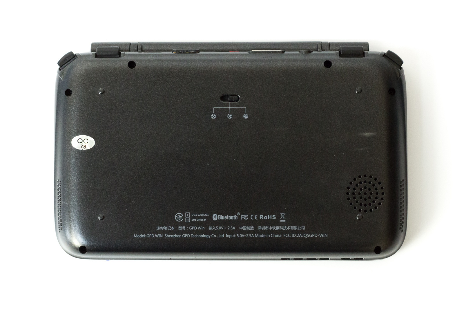 """GPD Win — исследуем миниатюрный ноутбук с диагональю 5.5"""", предназначенный для игр и эмуляторов - 9"""