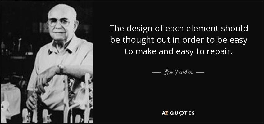 Личность и звук: Leo Fender – «Генри Форд» гитаростроения - 8
