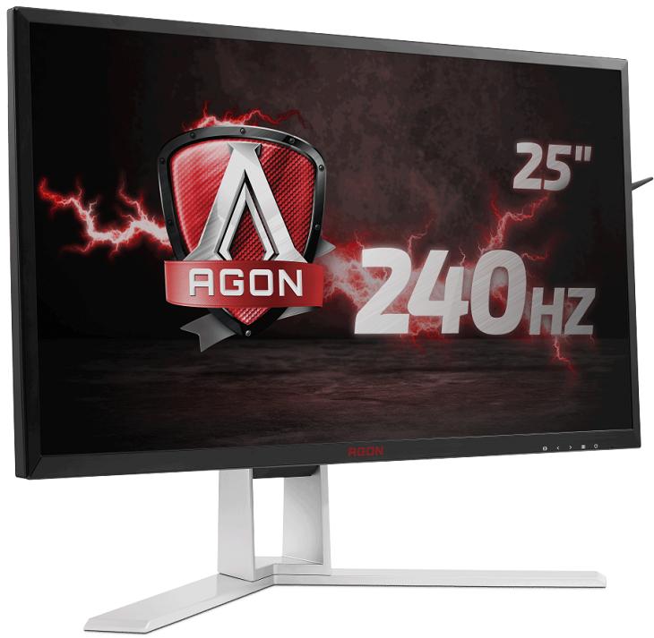 Дисплей AOC Agon AG251FG улучшает видимость в слишком темных сценах