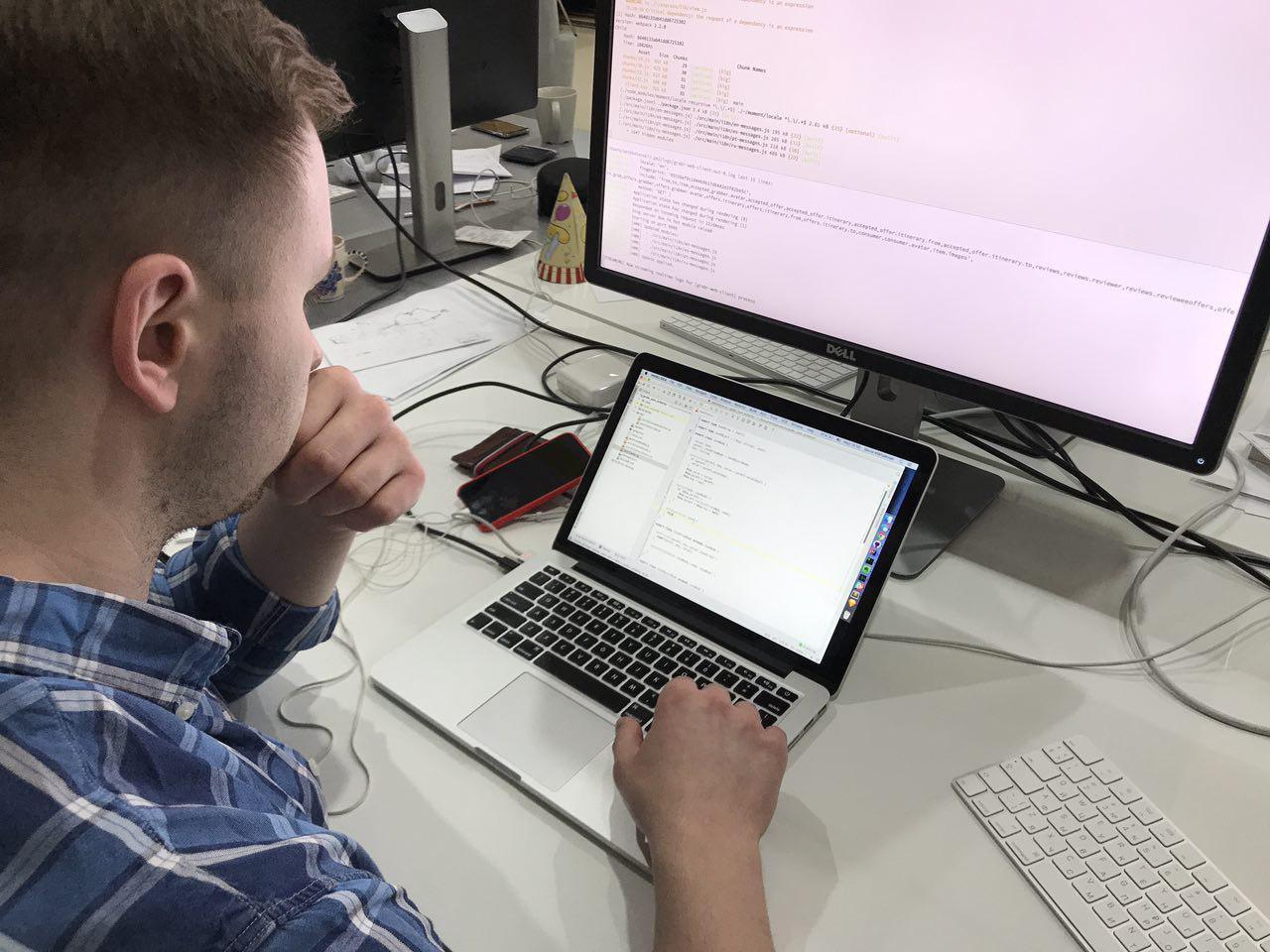 Как работают ИТ-специалисты. Савва Михалевский, front-end архитектор Grabr - 2