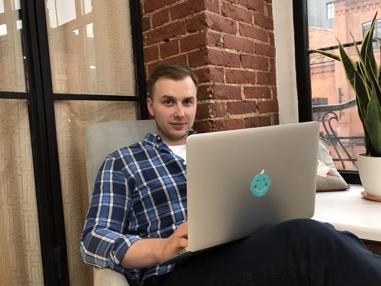 Как работают ИТ-специалисты. Савва Михалевский, front-end архитектор Grabr - 1