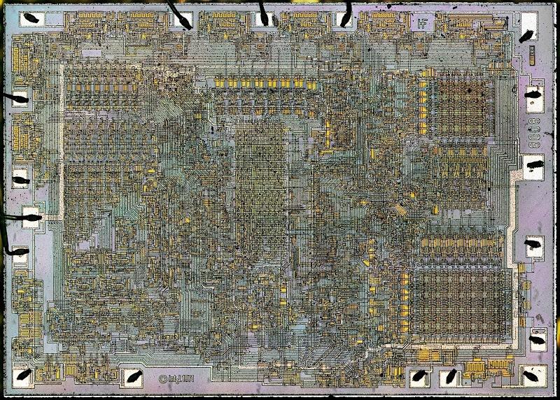 Процессор Intel 8008 — что внутри? - 2
