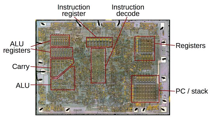 Процессор Intel 8008 — что внутри? - 3