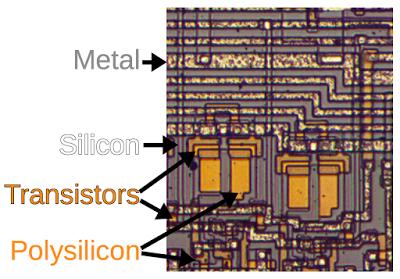 Процессор Intel 8008 — что внутри? - 4