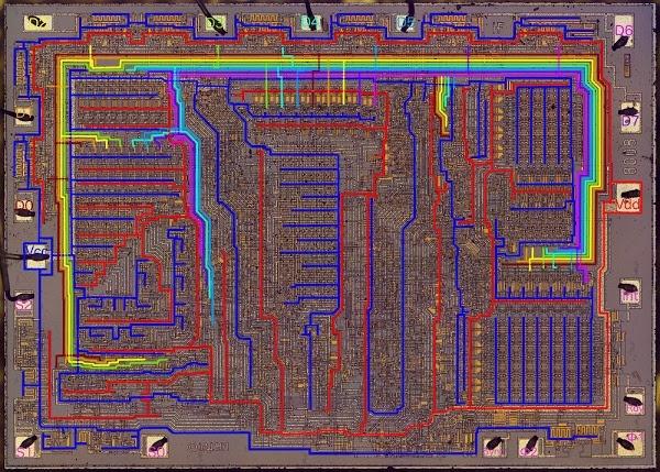 Процессор Intel 8008 — что внутри? - 5