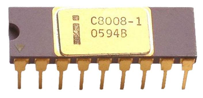 Процессор Intel 8008 — что внутри? - 1