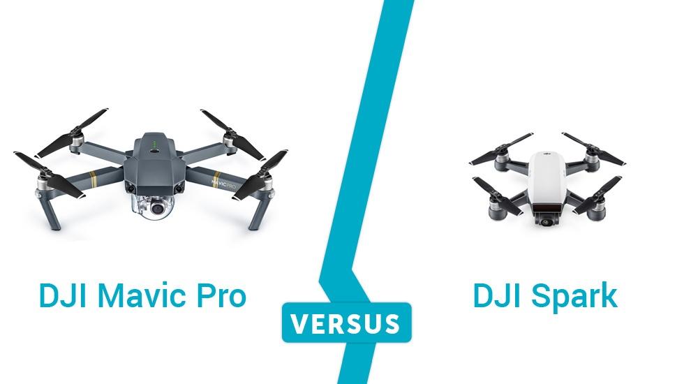 DJI Mavic Pro vs. DJI Spark — разбор полётов - 1