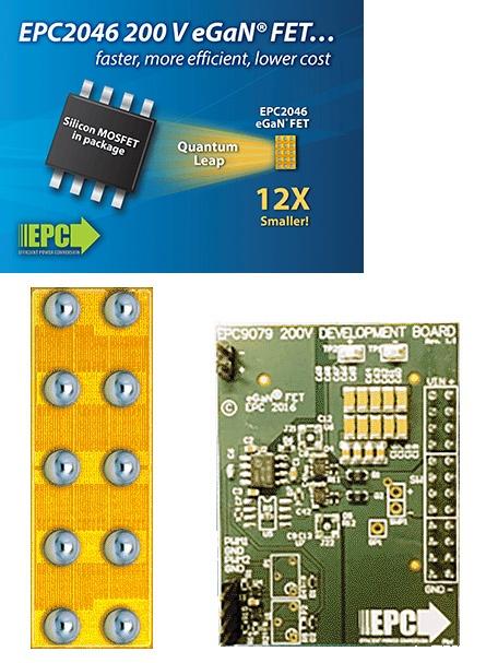 В EPC2046 используется нитрид галлия