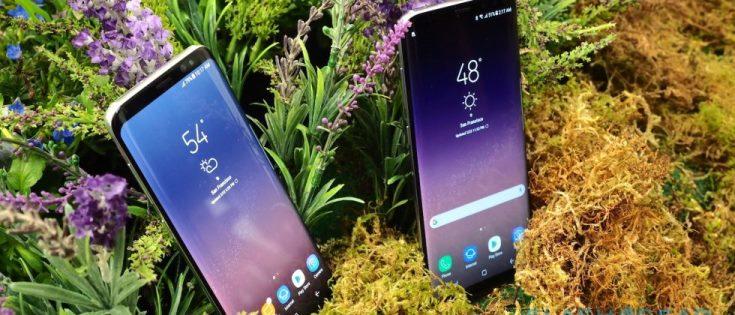 В cмартфонах Samsung Galaxy S8 и Galaxy S8+ используются экраны AMOLED
