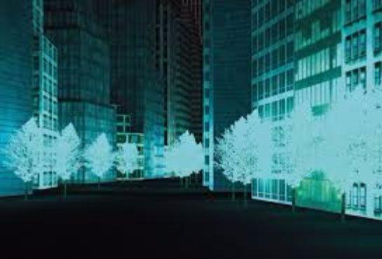 В Китае фонари хотят заменить светящимися растениями