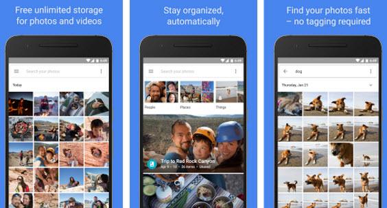 Приложение Google Photos скачано более миллиарда раз