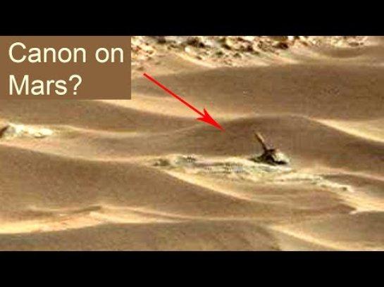 Уфологи считают, что на Марсе кода-то шла война